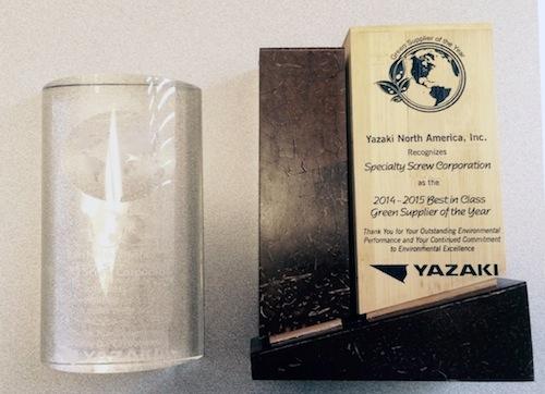 Yazaki Award